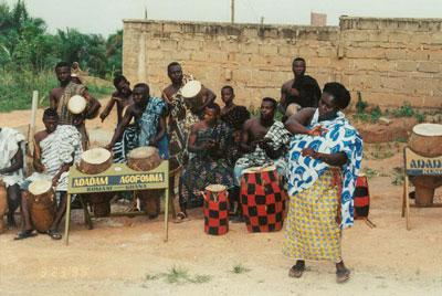 Leben in Ghana. Foto: Privat