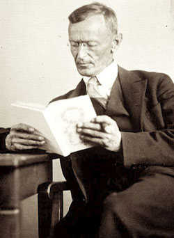Hermann Hesse im Jahr 1929.