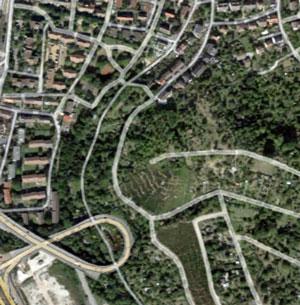 Grundstücke zwischen der Langenburger Straße und Krailenshaldenstraße. Foto: Google Maps