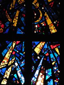 Pauluskirche-Kirchenfenster
