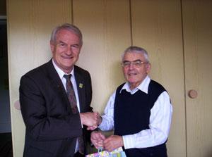 Dr. Hartmut Brausewetter, li., und Gerhard Hecker, re. Foto: Privat